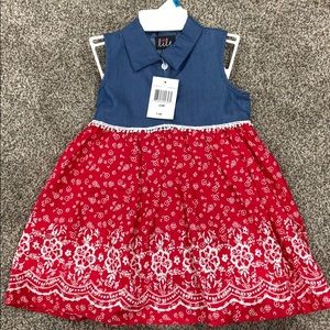 24 month sleeveless dress